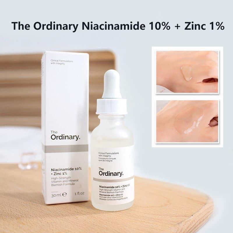 review serum The Ordinary Niacinamide 10% + Zinc 1%
