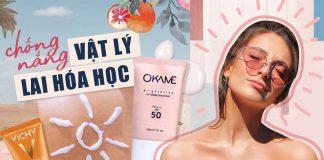 review kcn phổ rộng Okame Brightening UV Shield Sunscreen