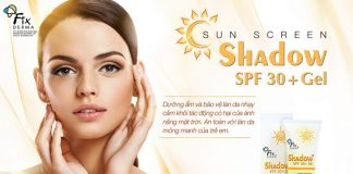 Review gel chống nắng Fixderma Shadow SPF 30