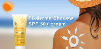 revivew KCN Fixderma Shadow SPF 50