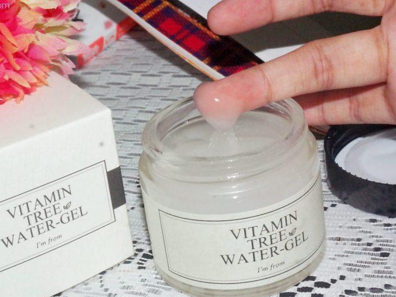 review kem Niacinamide I'm From Vitamin Tree Water Gel