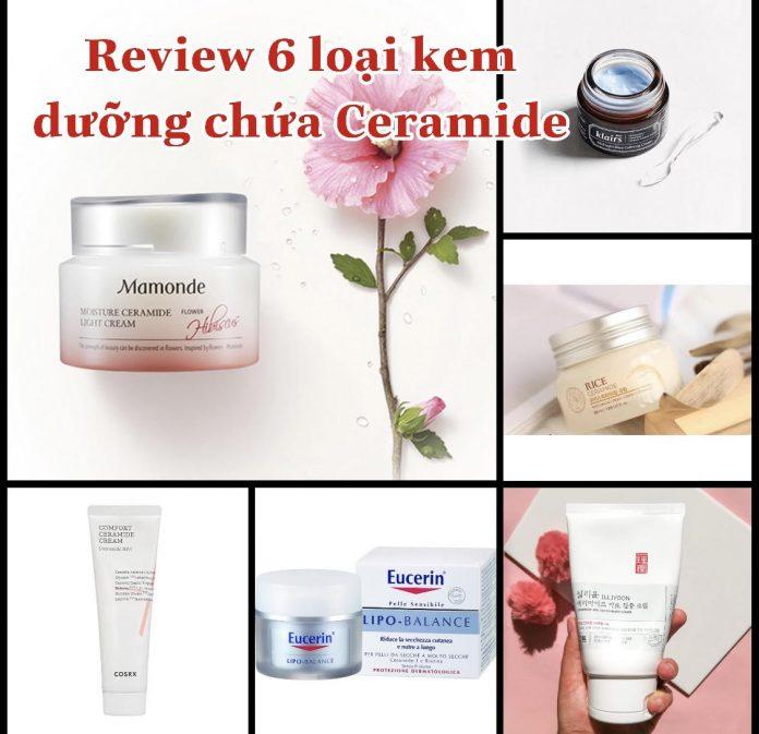 Review những loại kem dưỡng chứa Ceramide tốt nhất