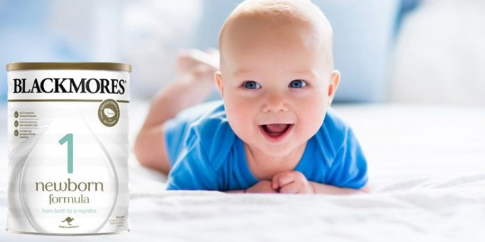 Sữa Blackmores Newborn Formula số 1 giúp tăng cân chống táo bón
