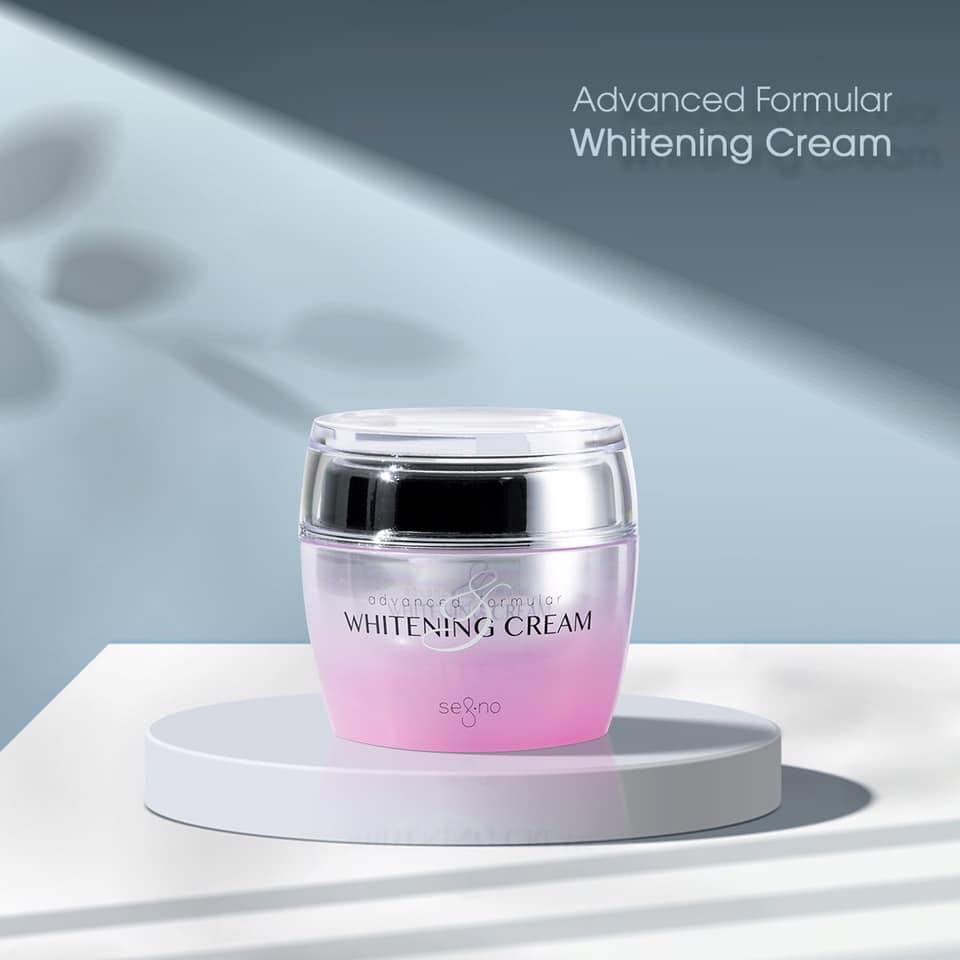 thiết kế kem dưỡng Segno Advanced Formular Whitening Cream
