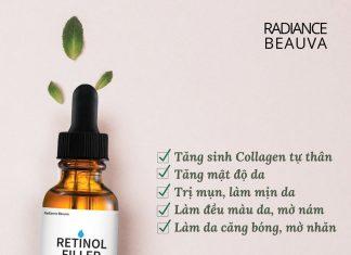 Review đánh giá Retinol Filler Radiance Beauva có tốt không